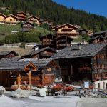 Grimentz, el pueblo de las flores del Valle de Anniviers
