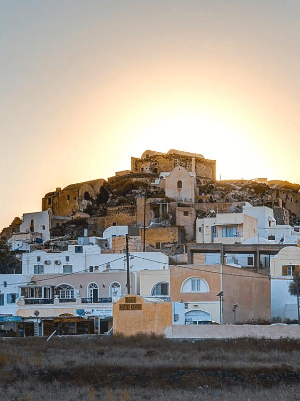 Akrotiri en Santorini