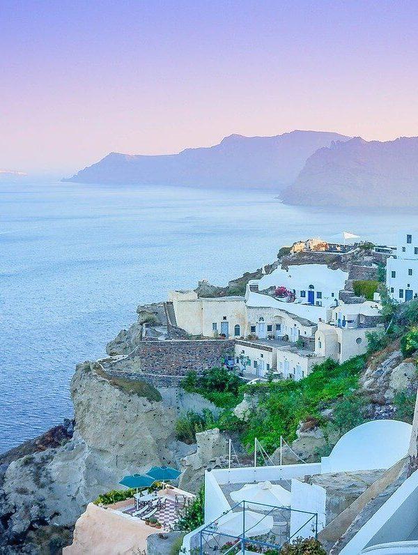 Viajar a Santorini Grecia