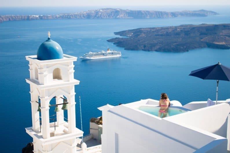 Viajar a Santorini: ¿cuánto dinero necesito?