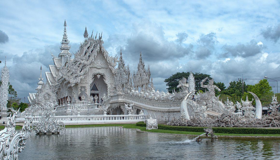 Templo blanco Tailandia, viajes baratos tailandia 2x1, viajes a tailandia precios, mes mas barato para viajar a Bangkok, precio medio vuelos tailandia