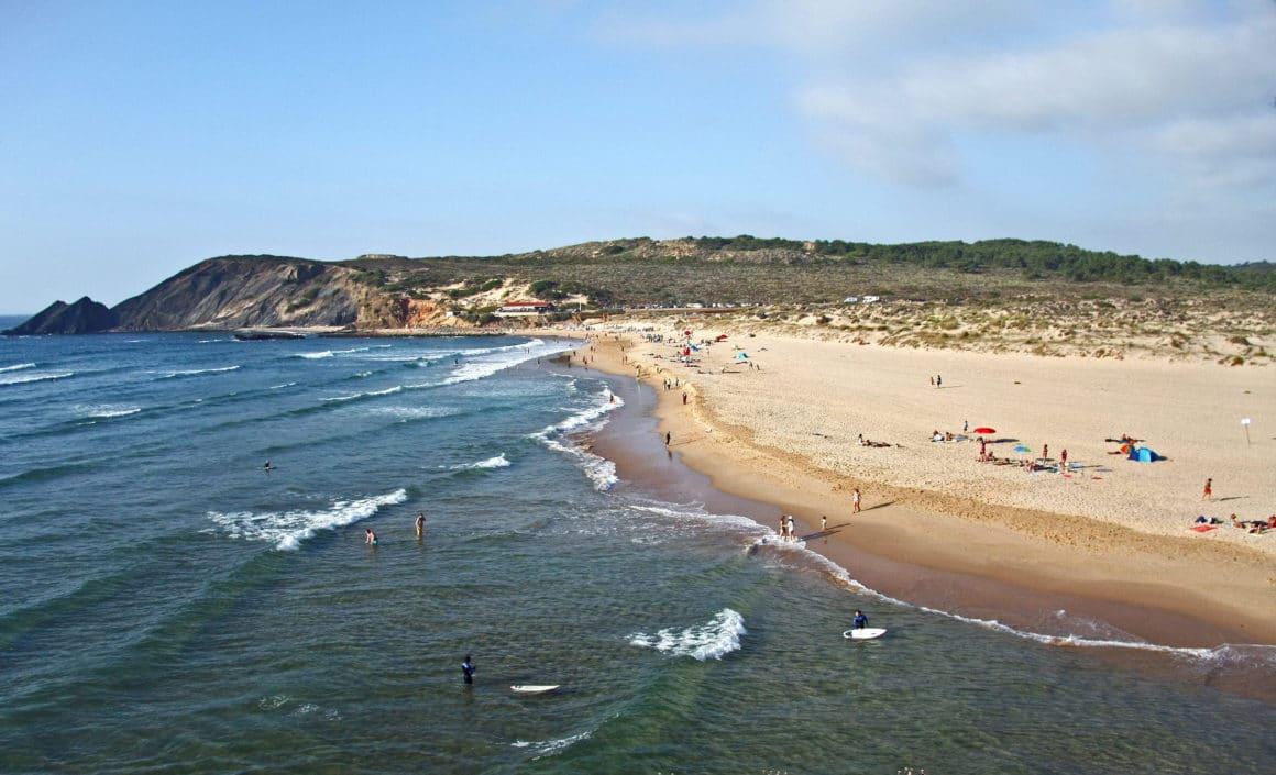 Praia Da Amoreira en Aljezur, Portugal