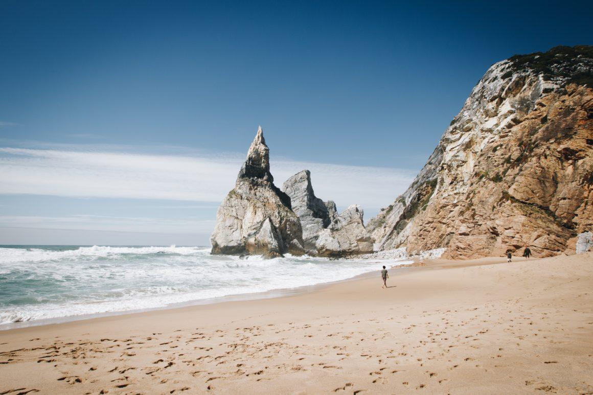 Playa de Ursa, uno del os mejores sitios de portugal
