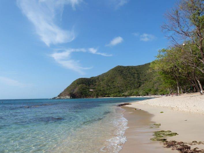 Playa Cristal es un paraíso en la costa del Océano Pacífico