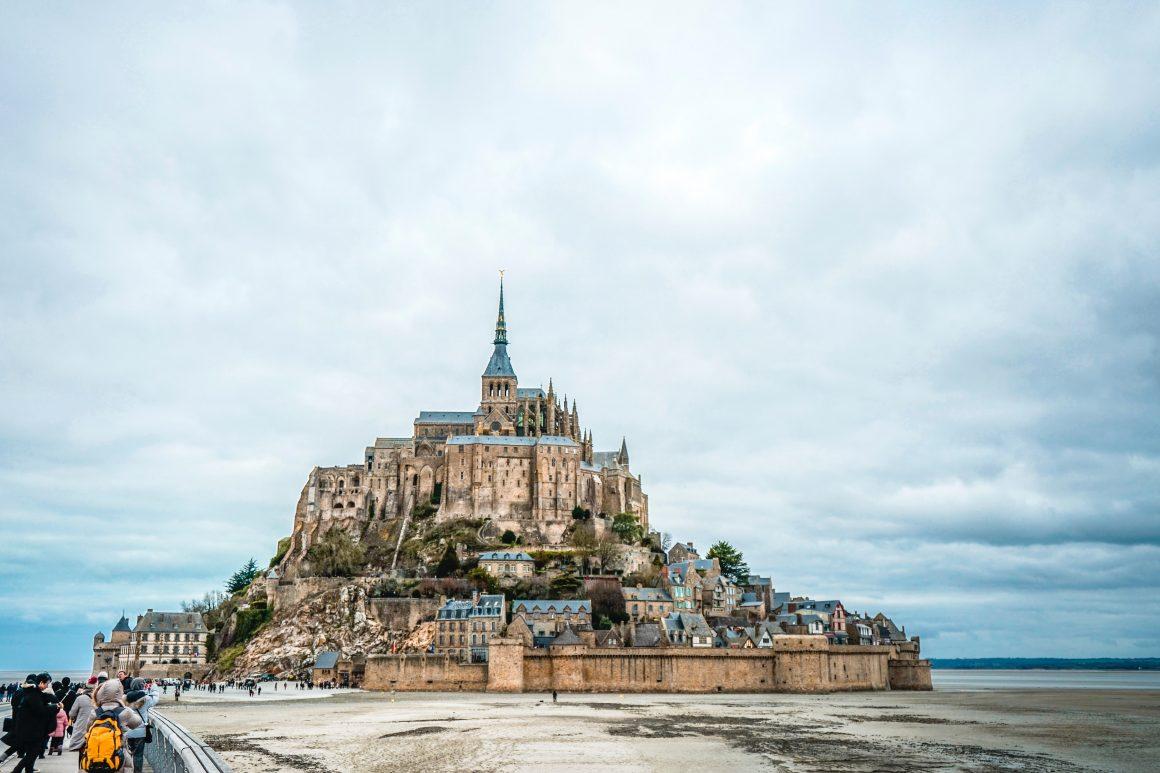 Mont Saint Michel, pueblos de Francia