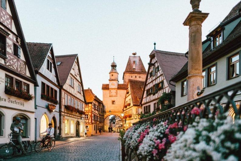 Rothenburg ob der tauber, de los pueblos de Alemania con más encanto