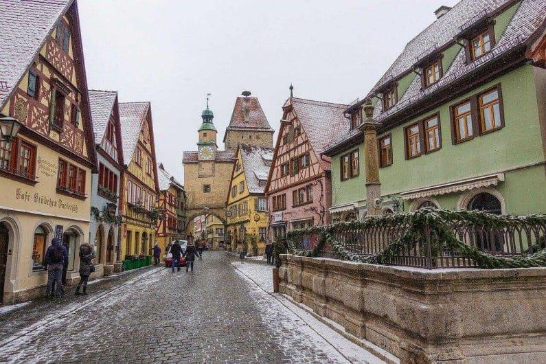 Rothenburg ob der Tauber, pueblos que visitar en Europa