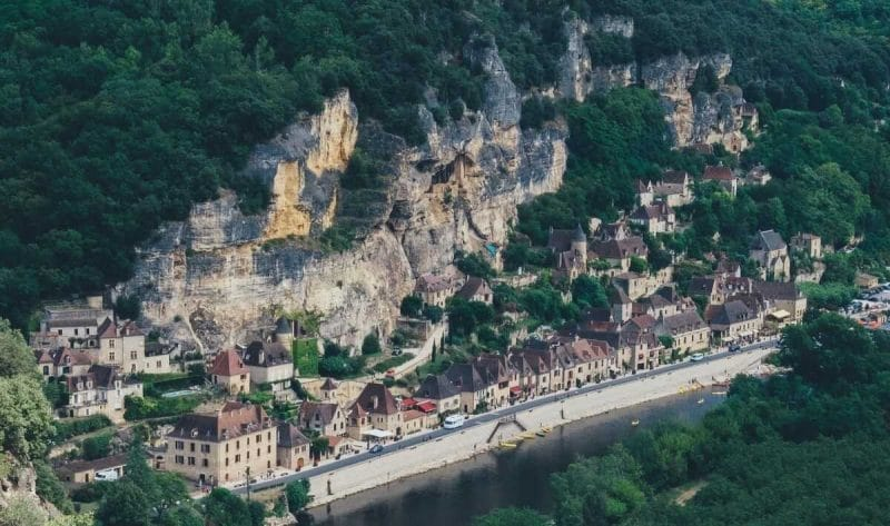La Roque Gageac en Francia