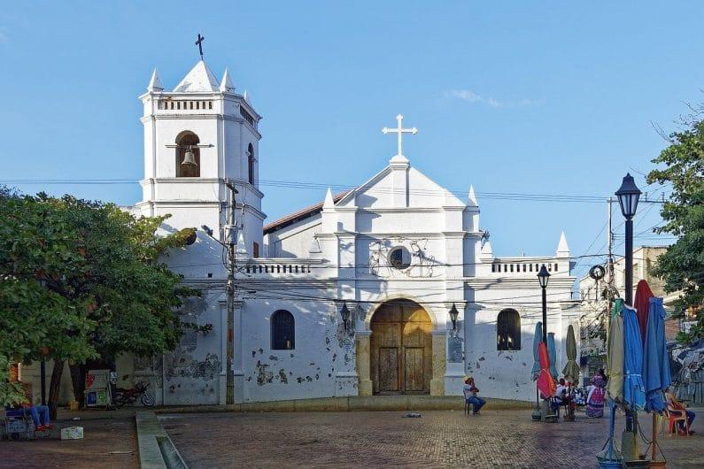 Calles de Santa Marta Colombia