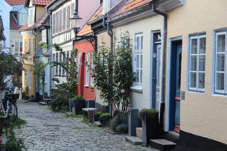 Centro histórico de Aalborg