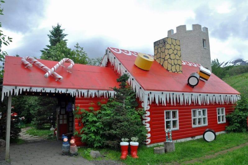 La Casa de Navidad en Akureyri