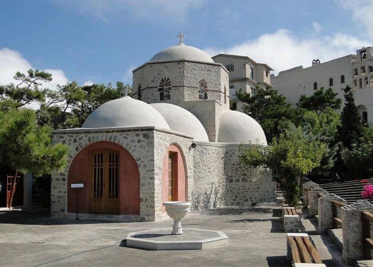 El monasterio del Profeta Elías Santorini