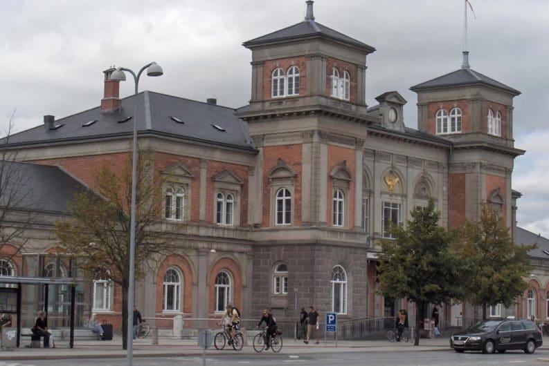 Estacion de trenes Aalborg