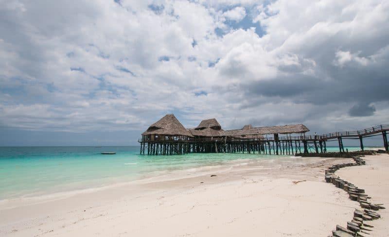 Kendwa beach en Zanzibar