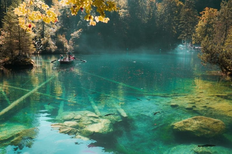 Lago Blausee Suiza