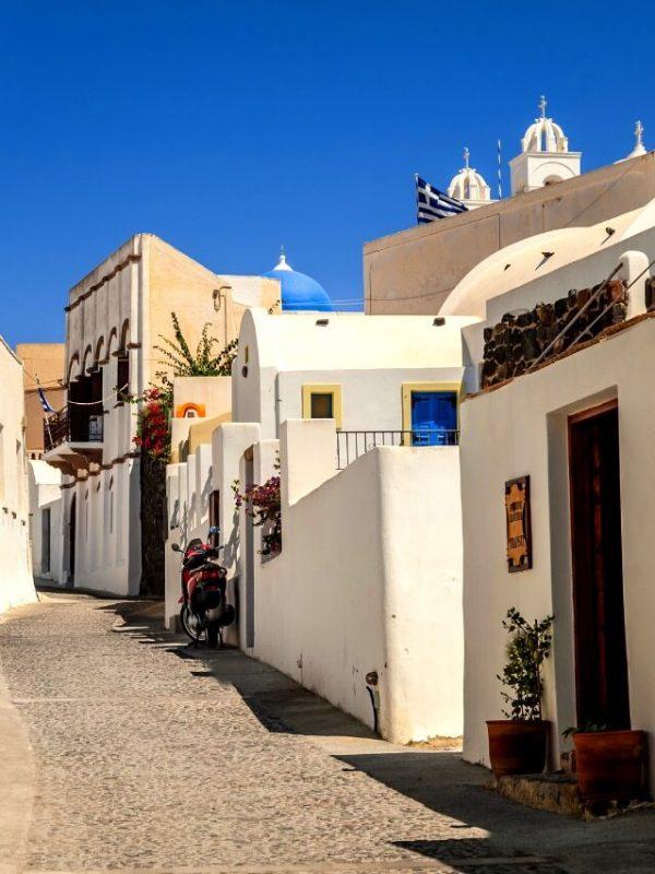 Megalochori, un pueblo que visitar en Santorini