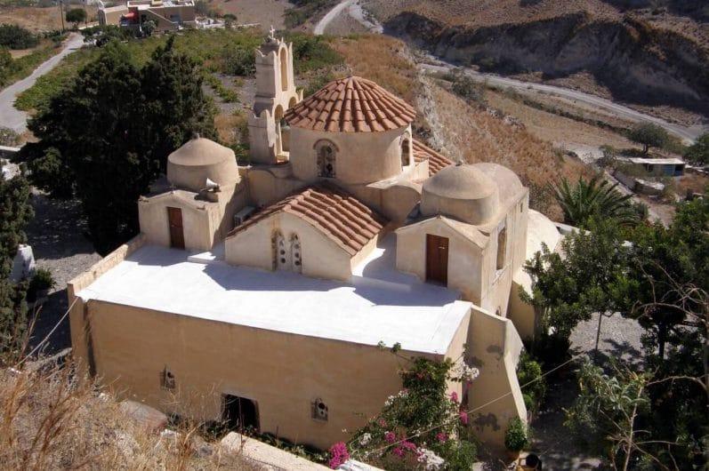 Monasterio de la Asunción de la Virgen en Santorini