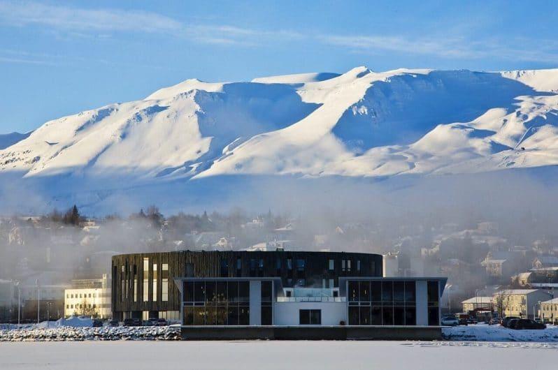 Monte Hlídarfjall en Akureyri
