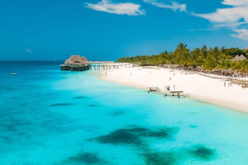 Playa Nungwi en Zanzibar