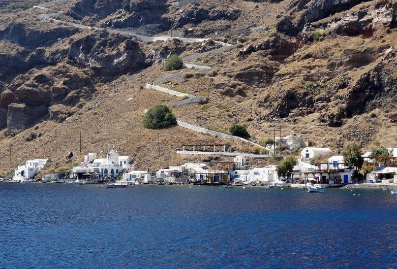 Korfos en Therasia