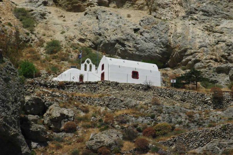 La iglesia de Panagia Katefiani Perissa