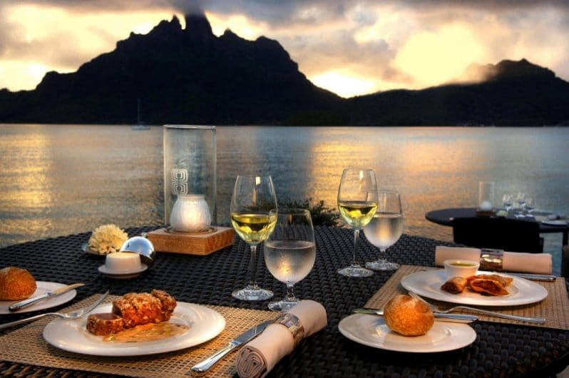 Restaurante Lagoon en Bora Bora