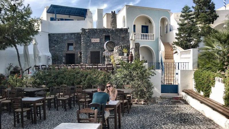 Restaurante Raki en Megalochori