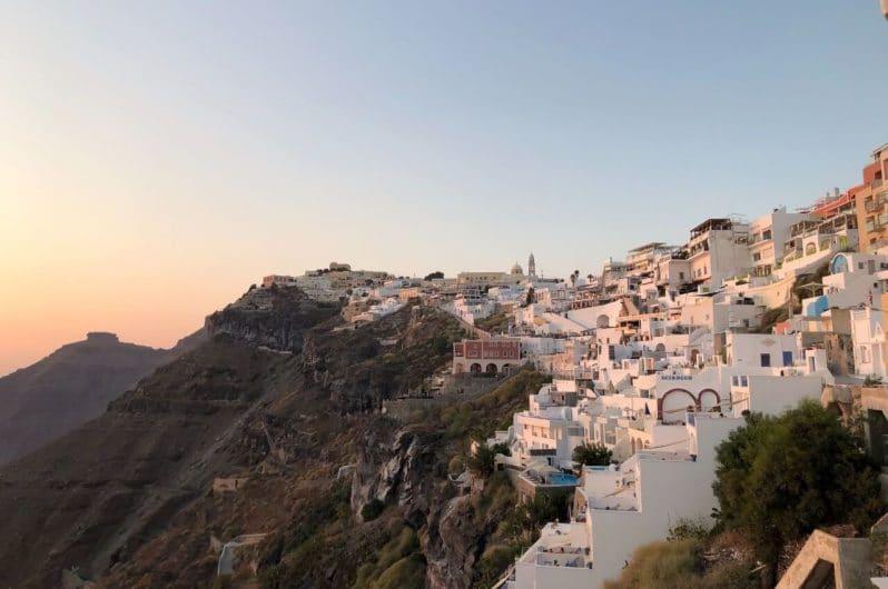 Vistas de Fira Santorini