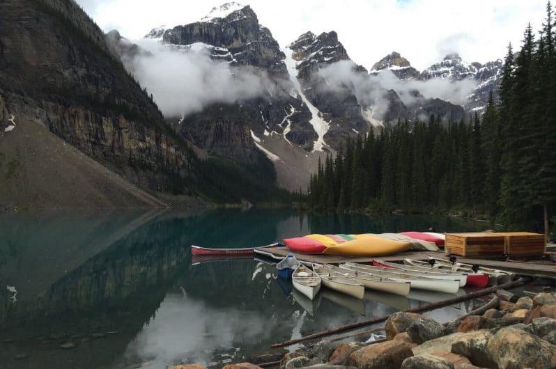 Vistas del Lake Louis en Banff