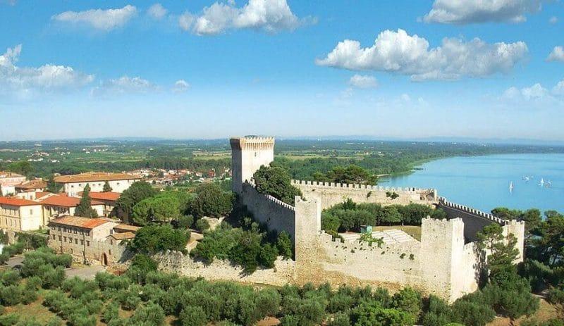 Castiglione del Lago - pueblos italianos