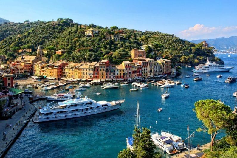 Portofino pueblos de Italia
