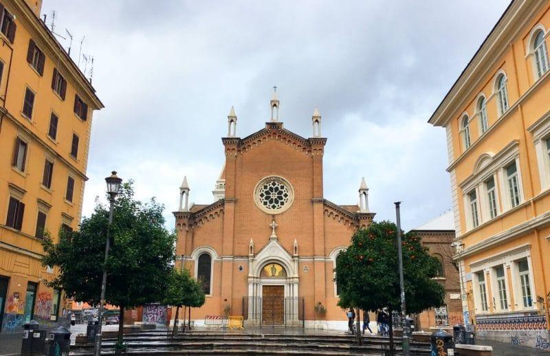 Barrio San Lorenzo Roma