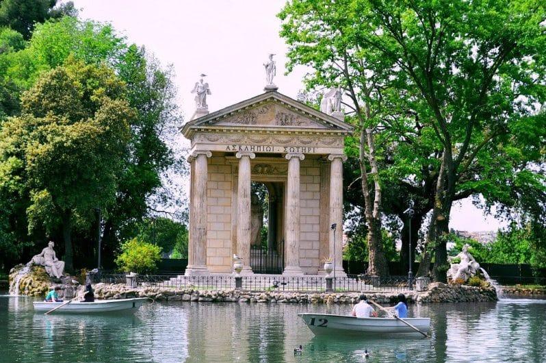 Jardines de Villa Borghese