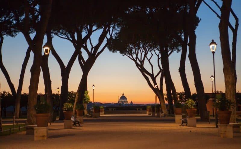 Jardín de los Naranjos Roma