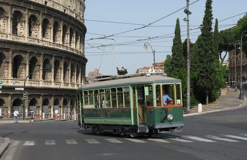 Roma en tranvía
